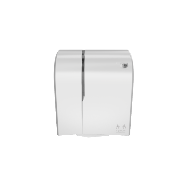 Dispensador toalla autocorte Blanco/blanco