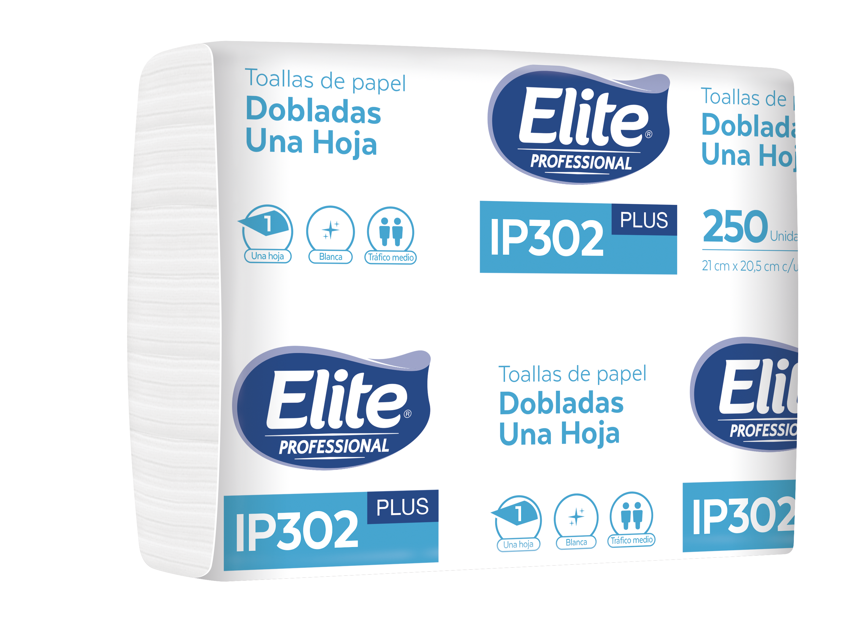 Toallas Interfoliadas Plus 3 Paneles x 250
