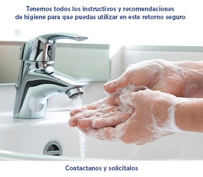 Instructivos y recomendaciones de higiene